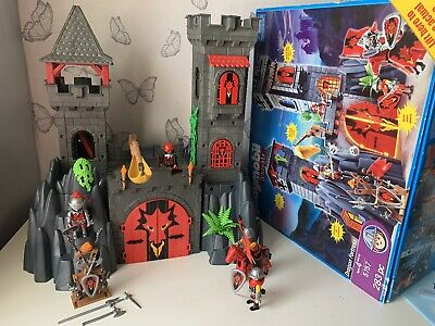 Playmobil  Dragon Rock Castle Fortress & Knight Figures