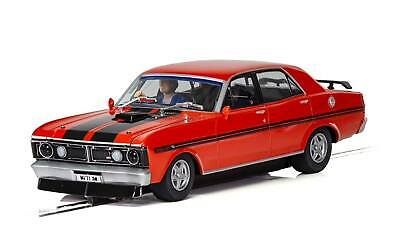 SCALEXTRIC Slot Car C Ford XY Road Car - Candy Apple Red