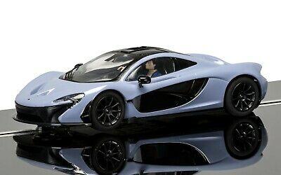 SCALEXTRIC Slot Car C McLaren P1 Grey