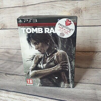 Tomb Raider Survival Edition Ps3 Game Complete Big Box