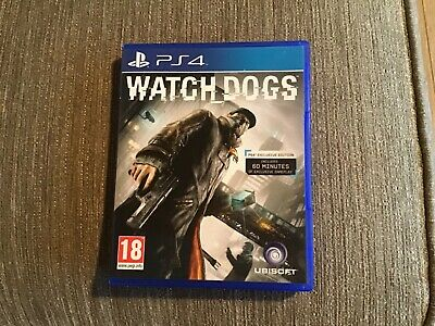WATCH DOGS PS4 Game. Used but in very good condition.