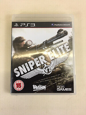ps3 Sniper Elite V2 (Sony PlayStation )complete With