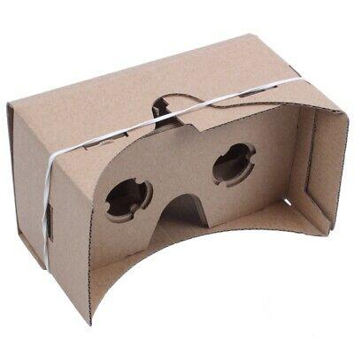 6 inch DIY 3D VR Virtual Reality Glasses Hardboard For