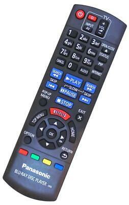 Genuine Panasonic N2QAYB Blu-ray Player Remote For