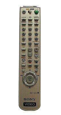Genuine SONY RMT-V407A Video Cassette Recorder Remote For