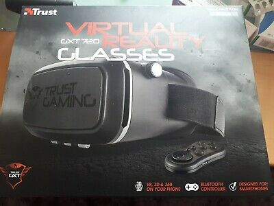 TRUST VIRTUAL REALITY GLASSES GXT720 COMPLETE WITH REMOTE