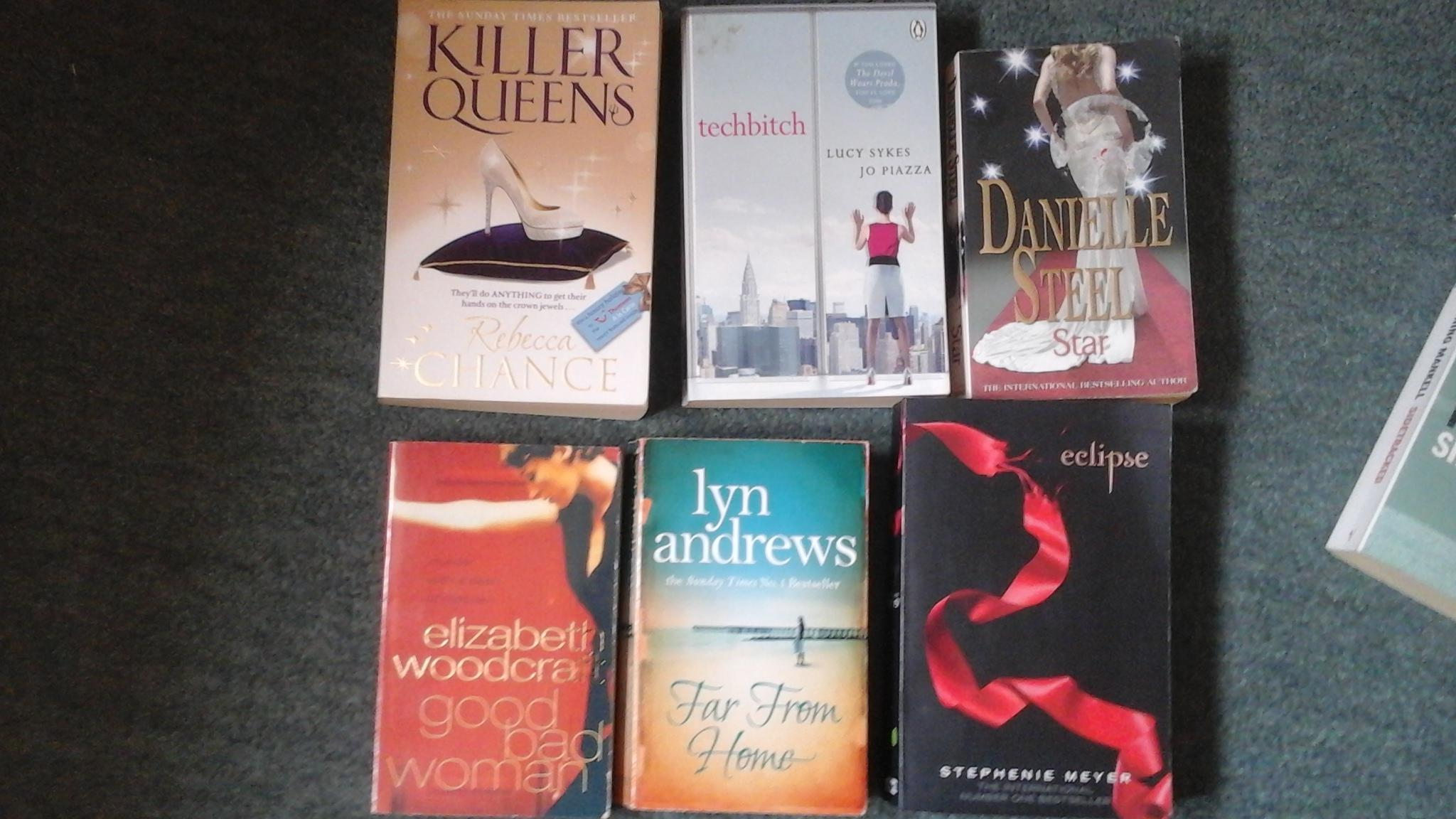 Bundle of 6 books