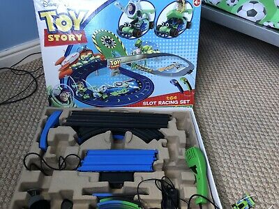 Disney Pixar Toy Story Micro Scalextric 1:64 Slot Racing