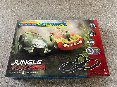 Micro Scalextric Jungle Mayhem G Boxed Complete