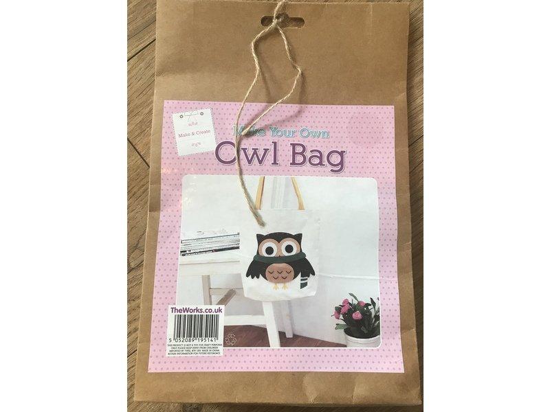 * Owl bag ~ make your own *
