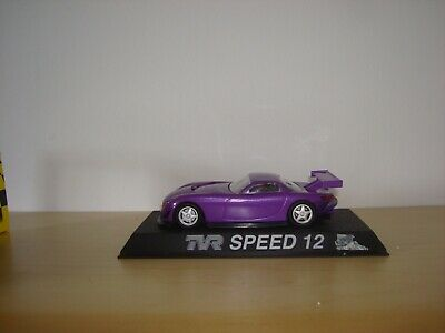 SCALEXTRIC C NOS TVR SPEED 12 'PURPLE' ROAD CAR - MINT