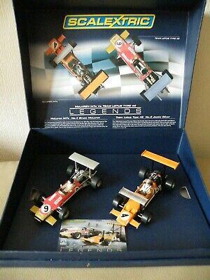 SCALEXTRIC CA McLaren M7C & Team Lotus Type