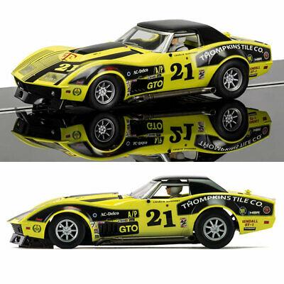SCALEXTRIC Slot Car C Chevrolet Corvette Stingray L