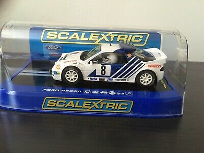 Scalextric C Ford RS200 No.8 Kelle Grundel  Rally of