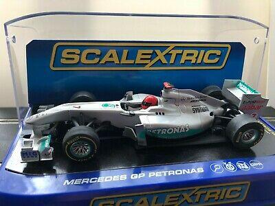Scalextric Car C Mercedes GP Petronas  F1 Schumacher