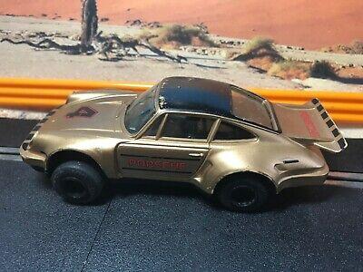 Scalextric Car, vintage 24A PORSCHE  bronze/gold No