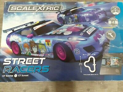 Scalextric Street Racers Car Track- Extra Braids Included