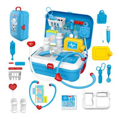 17 Pcs Children Pretend Play Doctor Toy Set Portable