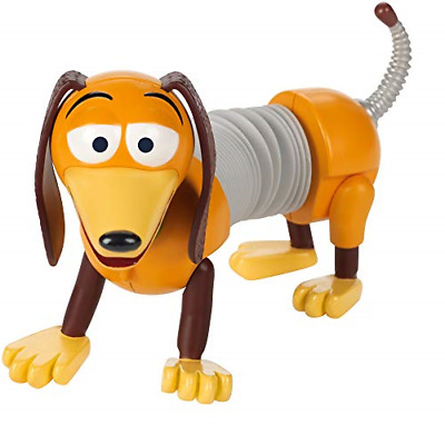 "Disney Pixar Toy Story 4 Slinky Figure, 4.4"" Tall, Posable"