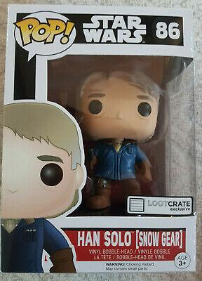 Star Wars Han Solo (Snow Gear) Funko! Pop 86 Loot Crate