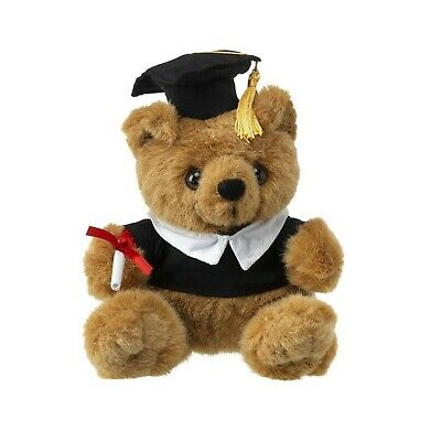 eBuyGB Graduation Plush Teddy Bear Soft Cute Toy Gift,