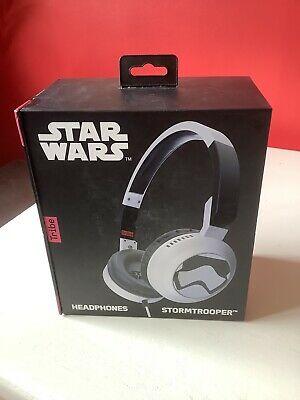 TribeTech Star Wars Stormtrooper Headphones 105dB - Unused,