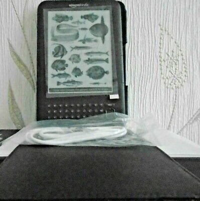 "Amazon Kindle Keyboard 3rd Generation 4GB 6"" Wi-Fi + 3G Plus"