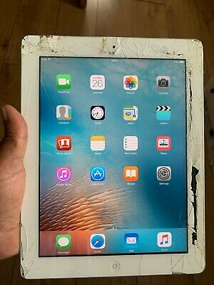 Apple iPad 2 16GB, Wi-Fi, 9.7in - White faulty
