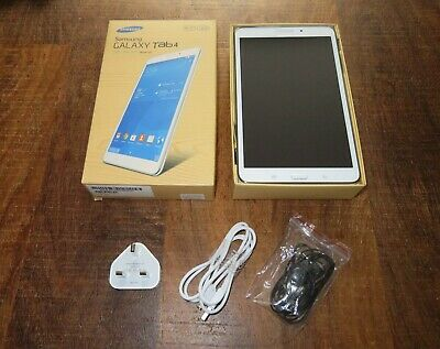"Samsung Galaxy Tab 4 SM-TGB 8"" White (EXCELLENT"
