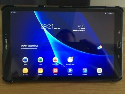 Samsung Galaxy Tab A T Black 16gb WiFi Android