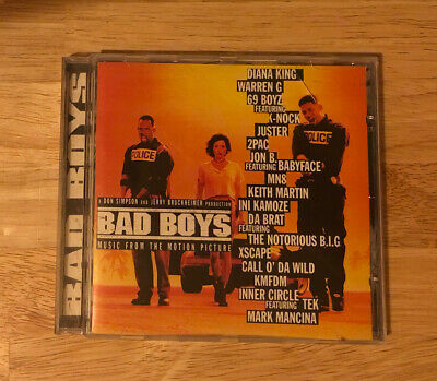 Soundtrack: Bad Boys: MUSIC from the MOTION PICTURE CD