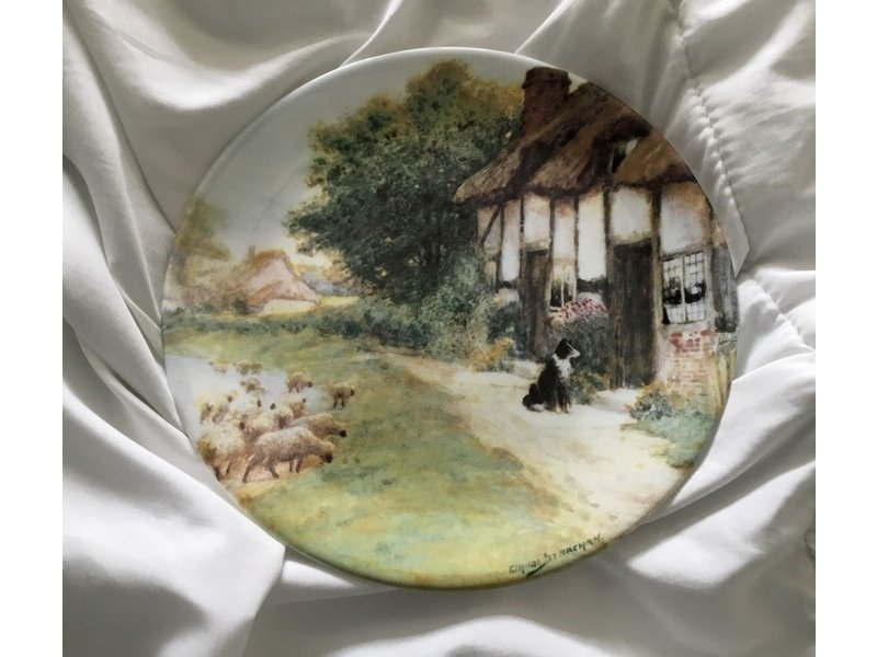 """Vintage Royal Grafton Collectors Plate, """"Waiting for"""