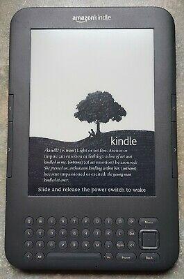 Amazon Kindle Keyboard (3rd Generation) 4 GB, Wi-Fi.