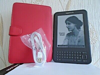Amazon Kindle Keyboard (3rd Generation) 4GB, Wi-Fi & 3G 6in,