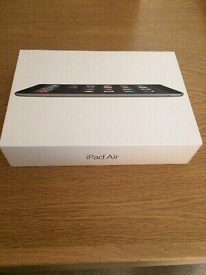 Boxed Apple iPad Air 16GB Wi-Fi Space Grey