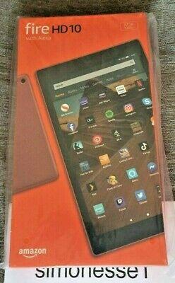 Fire 10 HD Amazon Kindle Tablet with Alexa 32 GB PLUM UK