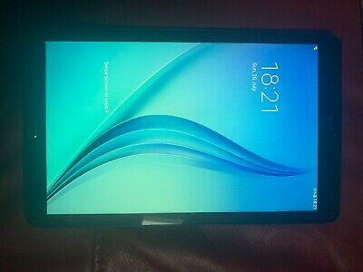 Samsung Galaxy Tab E T Black 8GB WORKS FINE READ
