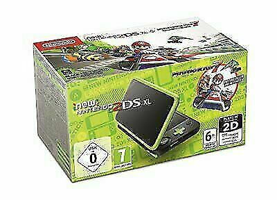 Nintendo 2DS XL Handheld Game Console with Mario Kart 7 -