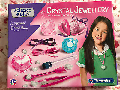 Clementoni - Science and Play Crystal Jewellery Making Set.