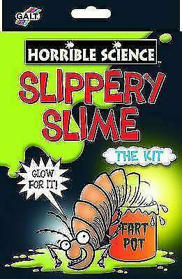 Galt Horrible Science Slippery Slime Kit Age 5