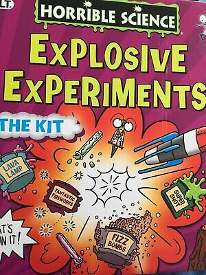 Horrible Histories Explosive Experiments The Kit Science Set