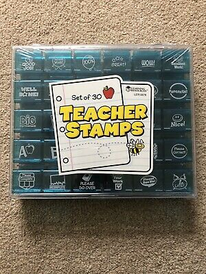 Learning Resources Jumbo Set of 30 Teacher Stamps