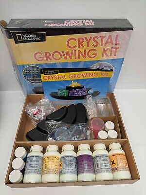 National Geographic Crystal Growing Kit 10+ (Damaged