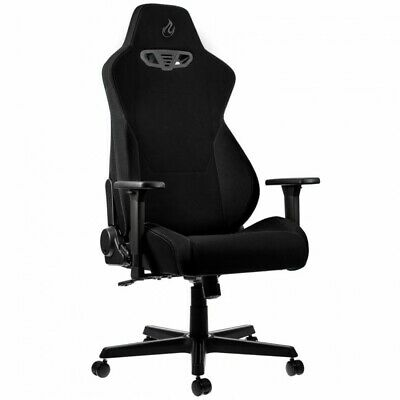 Nitro Concepts S300 Fabric Gaming Chair - Stealth Black