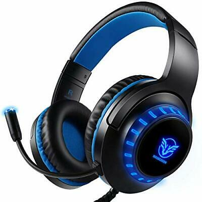 Pro Stereo Gaming Headset for PS4 PC Xbox One S X Nintendo