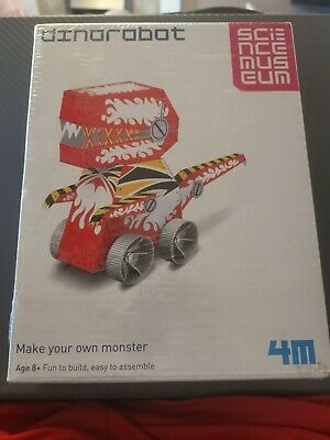 Science Museum Dino Robot Make Your Own Monster Build