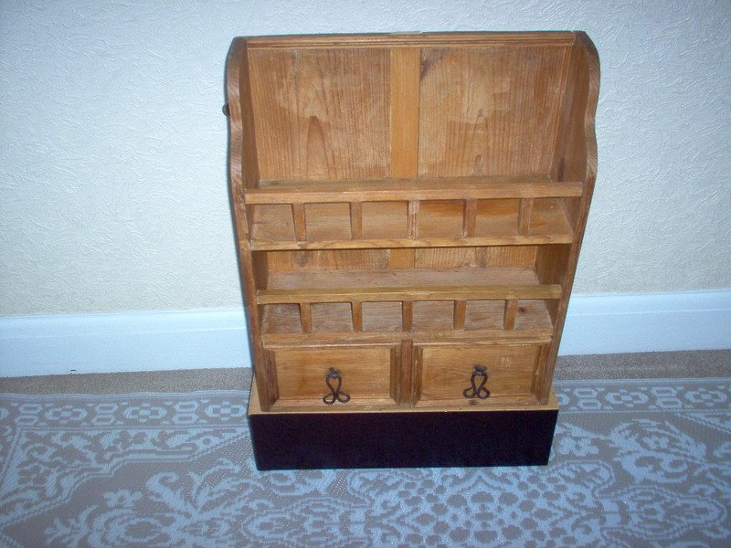 Small Solid Pine Unit.