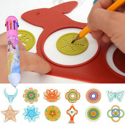 Spirograph Design Early Learning Creative Educational Toy