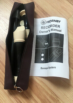 Treble Recorder JHS Hornby F New