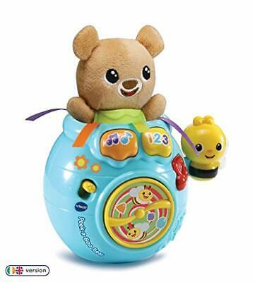 VTech Baby Peek-a-Boo Bear, Baby Interactive Toy for Sensory